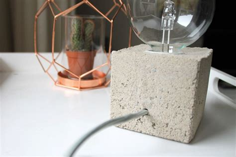 betonschalen selber gießen diy anleitung moderne zementle weihnachtsgeschenke len basteln und anleitungen