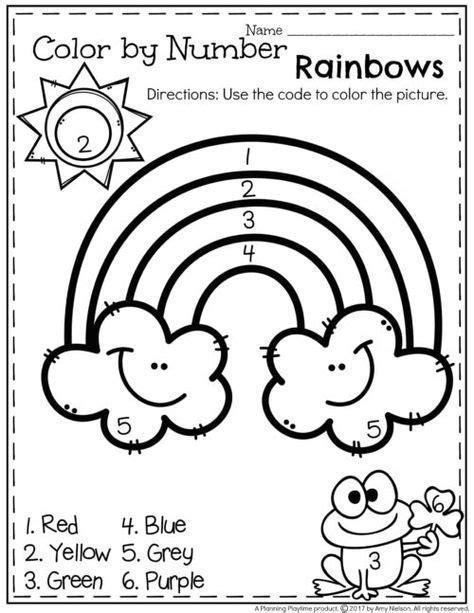 march preschool worksheets numbers preschool