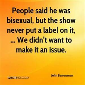 Bisexual Quotes - Page 1 | QuoteHD