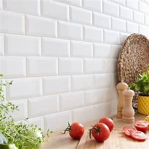 Carreau Metro Blanc : palette de carrelages en cuisine leroy merlin ~ Melissatoandfro.com Idées de Décoration