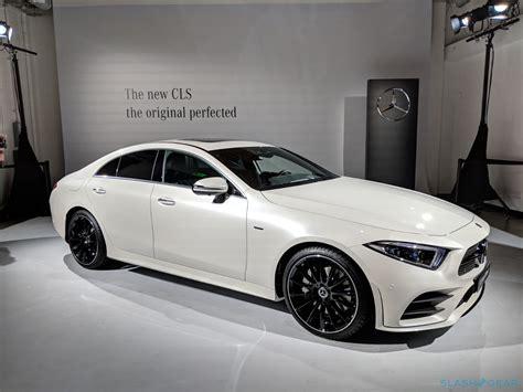 2019 Mercedesbenz Cls Is A 48v Hybrid Luxury Fourdoor