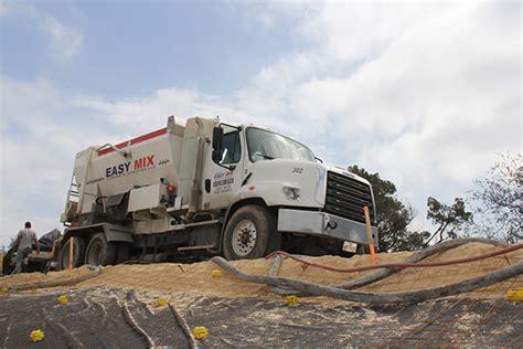 shotcrete  austin tx easy mix concrete services llc
