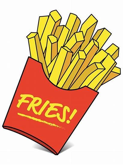 Fries Clipart Bag Fast Meal Balanced Transparent