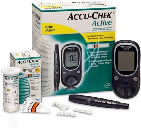 accu check active glucose monitor   strips