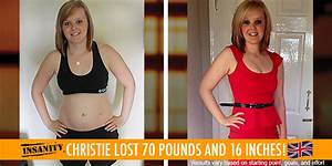 Transformation Tuesday  Christie Lost 70 Pounds With Insanity
