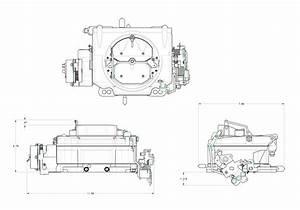 Demon Carb 1904 Street Demon 750 Crm 4 Barrel Carburetor  Polymer Body