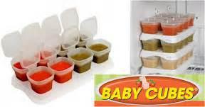 petits pots de conservation de baby cubes cubes petits