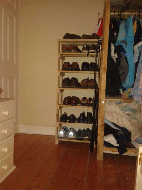 pallet shoe rack  pallets