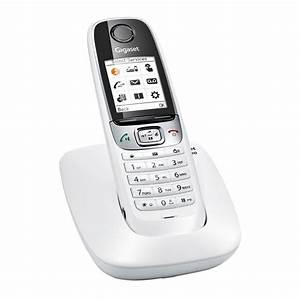 Combiné Téléphone Fixe : achetez votre gigaset c620 blanc au meilleur prix du web rue montgallet ~ Medecine-chirurgie-esthetiques.com Avis de Voitures