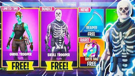 las skins de halloween vuelven skins esqueleto