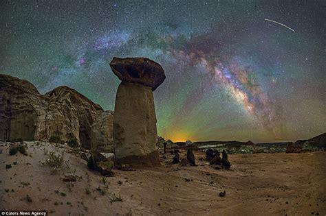 Photographer Dave Lane Captures Beauty Milky Way Above