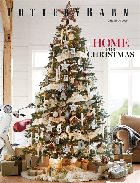 ideas  pottery barn christmas  pinterest