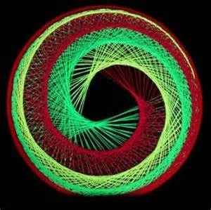 String Art Patterns and Directions