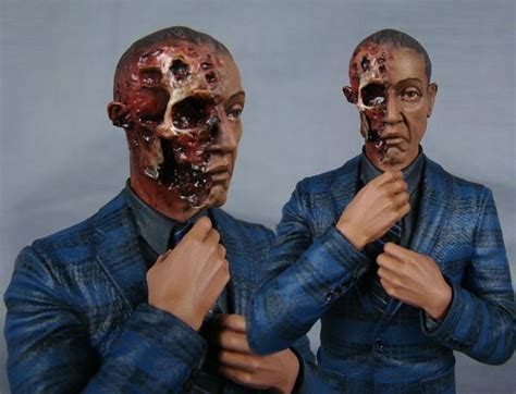 breaking bad gustavo fring variant burnt face version