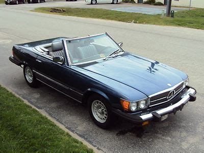 1984 mercedes benz 380sl convertible. Buy used 1984 MERCEDES 380SL CONVERTIBLE - RUNS/LOOKS/DRIVES GREAT! NO RUST! NICE CAR! in ...