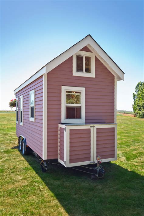 living in a tiny house tiny pink house tiny house swoon