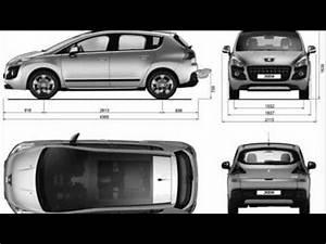 Dimension Peugeot 107 : peugeot 3008 dimensions youtube ~ Maxctalentgroup.com Avis de Voitures