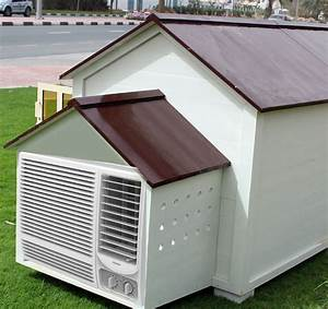 dog house with ac dubai uae outdoor air conditioned With large dog house with ac