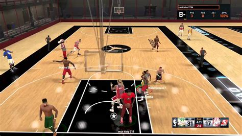 Playing With A Mascot Nba 2k15 Rec Center Gameplay