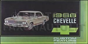 1966 Chevrolet Chevelle Wiring Diagram Reprint Malibu  Ss  El Camino