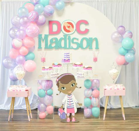 Doc Mcstuffins Decorations - doc mcstuffins birthday ideas photo 1 of 24