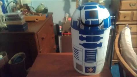 How To Make An R2-d2 Pattern Trash Can