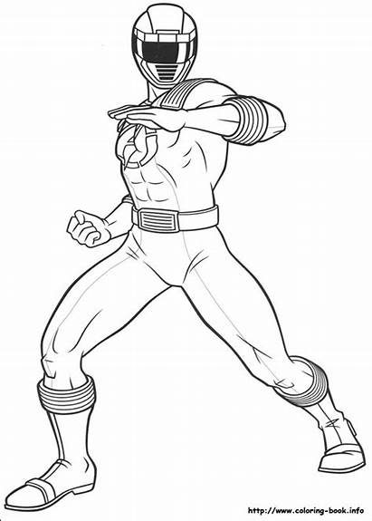 Rangers Power Coloring Pages Printable
