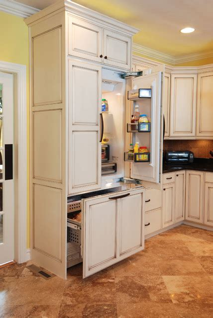 kitchen backsplash ideas houzz built in fridge freezer