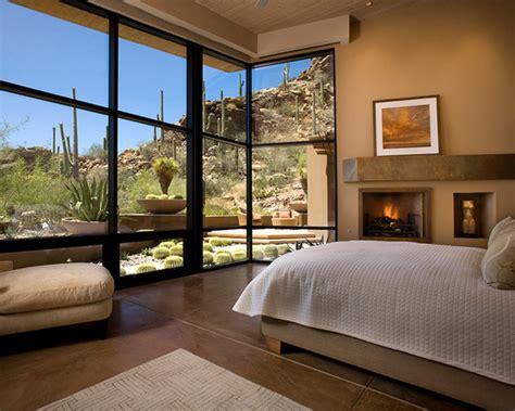 bedroom design ideas  floor  ceiling windows