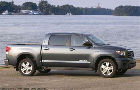 Toyota Tundra Length by 2007 Toyota Tundra Crewmax Pictures And Information