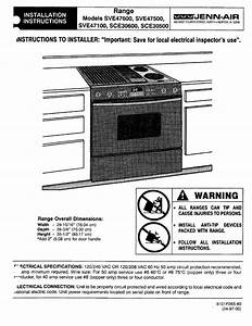 Jenn Air Convection Microwave Oven Manual  U2013 Bestmicrowave
