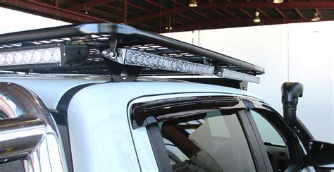 roof rack light bar oval steel roof racks tradesman roof racks