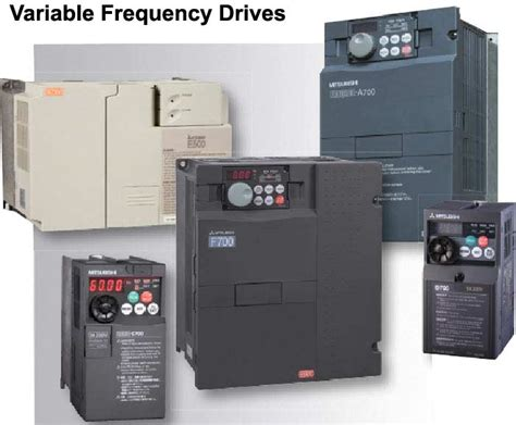 Mitsubishi Variable Frequency Drive by Standard Features