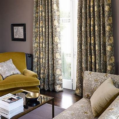 Morris Pimpernel William Fabric Curtains Iii Prints