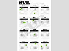Calendario de fiestas laborales para 2019 ¿cuáles son los