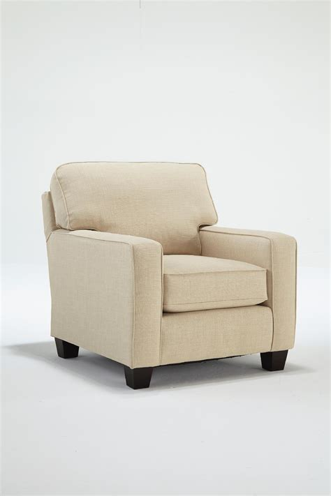best home furnishings beige hyde park accent chair