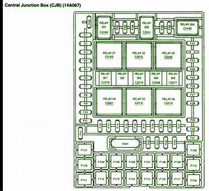 2005 Ford F150 4 U00d74 Central Junction Fuse Box Diagram