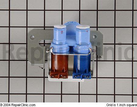 icemaker   ge monogram refrigerator stopped making ice  light    water