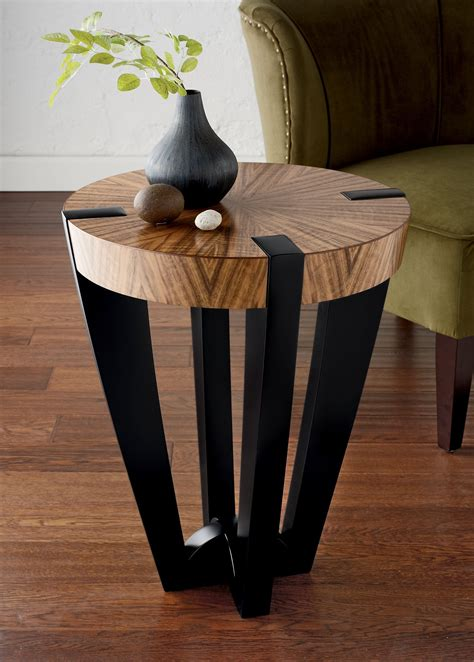 compass side table  enrico konig wood side table side