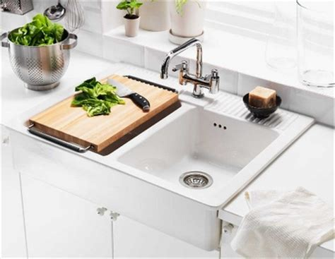 farm sinks for kitchens ikea domsjo bowl farm sink from ikea for the home 8907