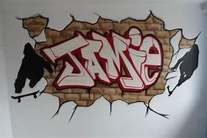 graffiti murals for bedrooms brick wall graffiti With graffiti letters for bedroom walls