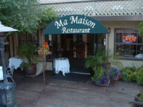 ma maison restaurant aptos menu prices restaurant reviews tripadvisor