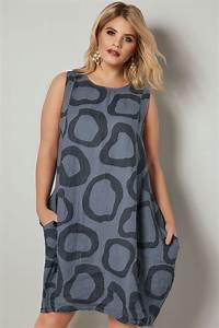 285 25 20 : paprika navy circle print dress with pockets plus size 16 ~ Jslefanu.com Haus und Dekorationen