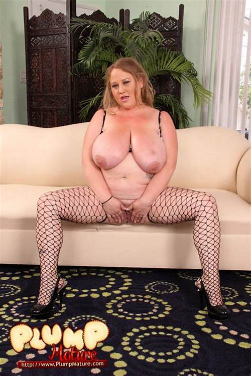 Gorgeous Long Hair Old Literally Ripped Apart #Plumper #In #Black #Fishnet #Stretches #Her #Smoothie