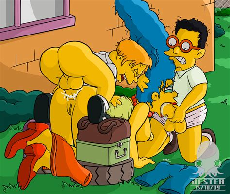 Marge And Lisa Simpson Porn image #92853