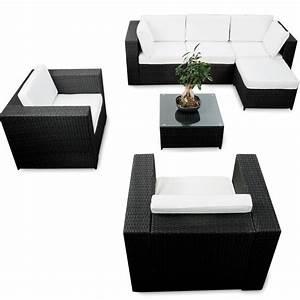 Lounge Set Günstig : modulares 21tlg gartenm bel xxl polyrattan garten lounge m bel ecksofa anthrazit lounge m bel ~ Indierocktalk.com Haus und Dekorationen