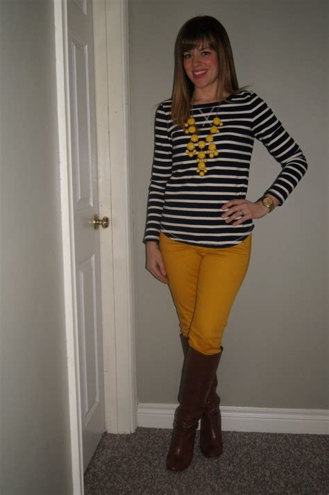 11 best images about Mustard Jeans Outfits on Pinterest | Mustard pants Mustard jeans outfit ...