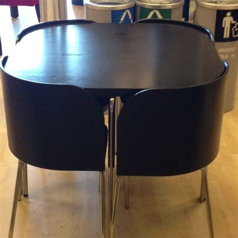 Space Saver Desk Ikea by Ikea Table Space Saver And The Chair On