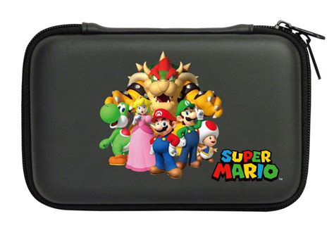 housse protection sacoche rigide mario familly 3ds xl dsi xl
