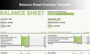 Balance Sheet Template - Free Excel, Word Documents ...